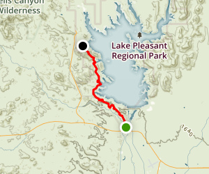 Beardsley and Pipeline Canyon Trail Map