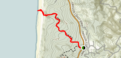 333 Trail Map