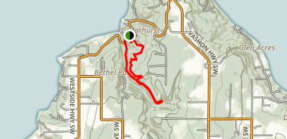 Shinglemill Creek Loop Map