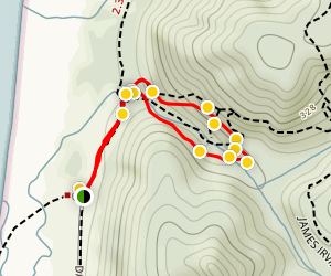 Fern Canyon Loop Trail Map