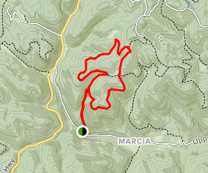 Schofield Canyon Loop Trail Map