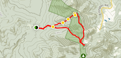 Killington (Extended) Loop Map
