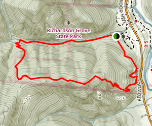 Durphy Creek Trail Loop Map