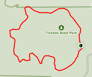 Tickfaw State Park River Loop Map