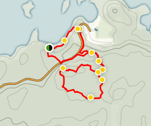 Top of the World - Falcon Trails Map