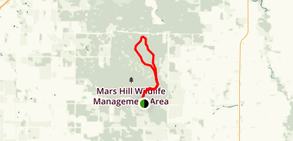Wolverine Hill Loop Map