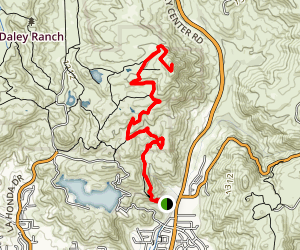 Stanley Peak via Sage Trail  Map