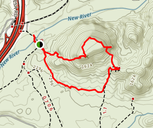 Table Mesa (Mountain) Map