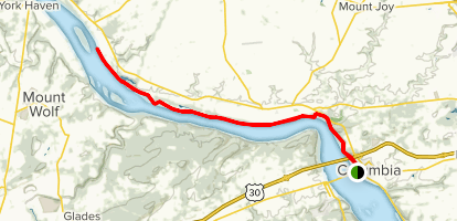 Northwest Lancaster County River Trail Map