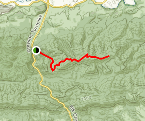 Henley Hollow Trail Map