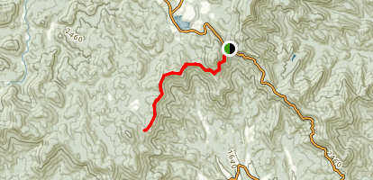 Appalachian Trail: Woody Gap to Gooch Gap  Map