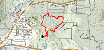Tom Moody Extended Loop Trail Map