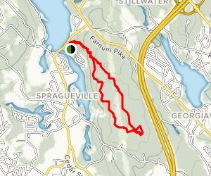 Wolf Hill Forest Perserve Trail Map