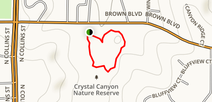 Crystal Canyon Map