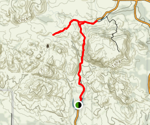 Charons Garden Mountains Trail Map