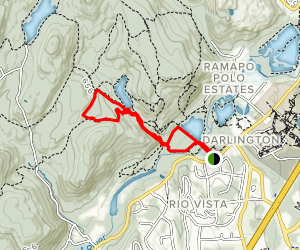 Middle Valley Loop Map