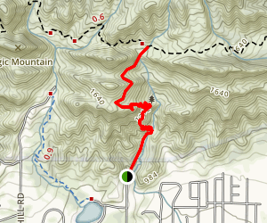 Fox Canyon Trail Map