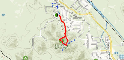 Eastwing Mountain Trail Map
