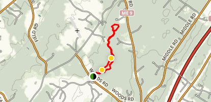 Yellow and Red Trails [CLOSED] Map