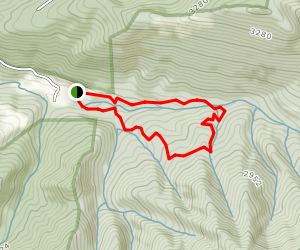Crystal Springs Loop Map