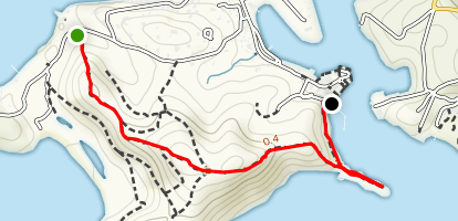 Middle Ground Trail Map