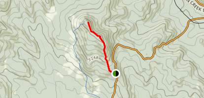 Death's Head Short Route Map