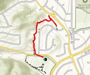 McVicker Stairs Map