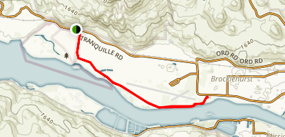 Rivers Trail Map