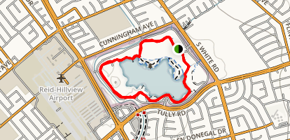 Lake Cunningham Map