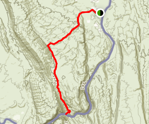 Cross Canyon Trail Map