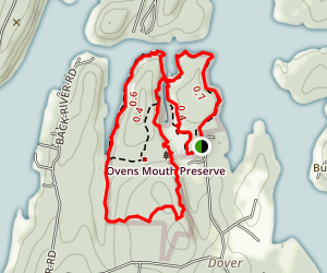 Ovens Mouth Preserve Loop Map