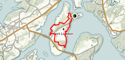 Fort Loudon Trail Loop Map