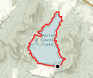 Marion County Lake Loop Map