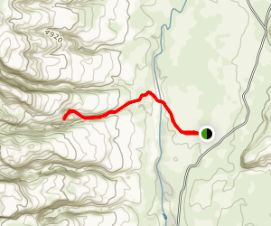 Cold Spring Cave Map