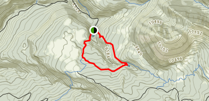 Clark Lake Loop Trail Map