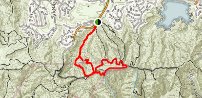 Caballero Canyon Trail Map