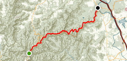 Shut-In Trail Map