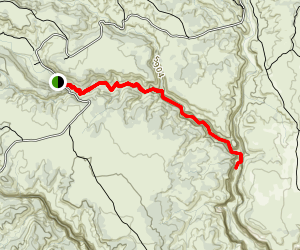 Willis Creek Narrows Trail Map