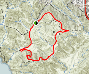 Wolf Ridge Trail to Maricello Trail Loop Map