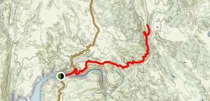 Skunk Hallow South Fork American River Trail Map