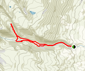 East Summit of Mount Aragats Map