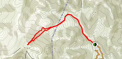 Mount Teghenis 1 from the East Map