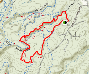 Holy Bucket and Holy Cross Loop Map