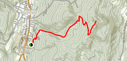 Paine Mountain Map