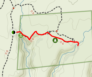 Horseshoe and Hackberry Groups Trail Map