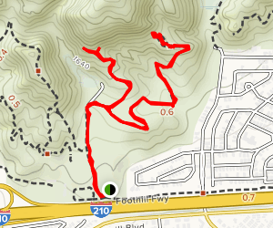Stetson Ranch Park Hike Map