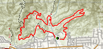 Corrals MTB Loop  Map