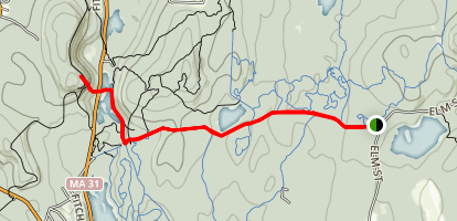 Parmenter to Crow Hill Map