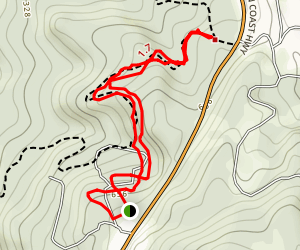 Belleview Lane to 333 Trail Map
