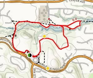 Hidden Lakes Park Loop Map